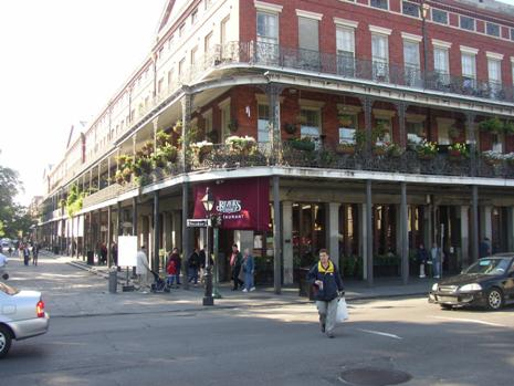 Restaurant im French Quarter